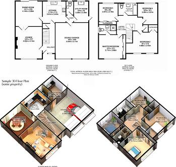 Quality 3D Floor Plans in India, Low Cost 3D Floor Plans Services ...