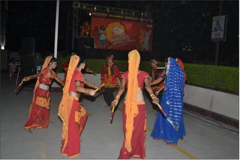 2011 - Dandiya performance during Navratri Mahotsa