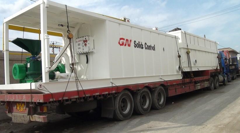 onshore oil rig package