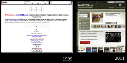 WARSTUFF Then and Now 1999-2011