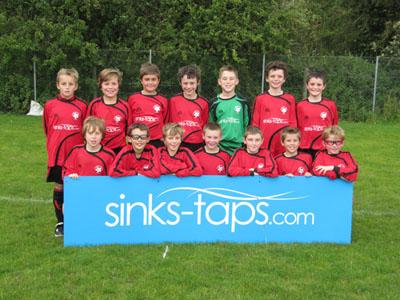 Sinks Taps Com Sponsors Yorkshire Football Team