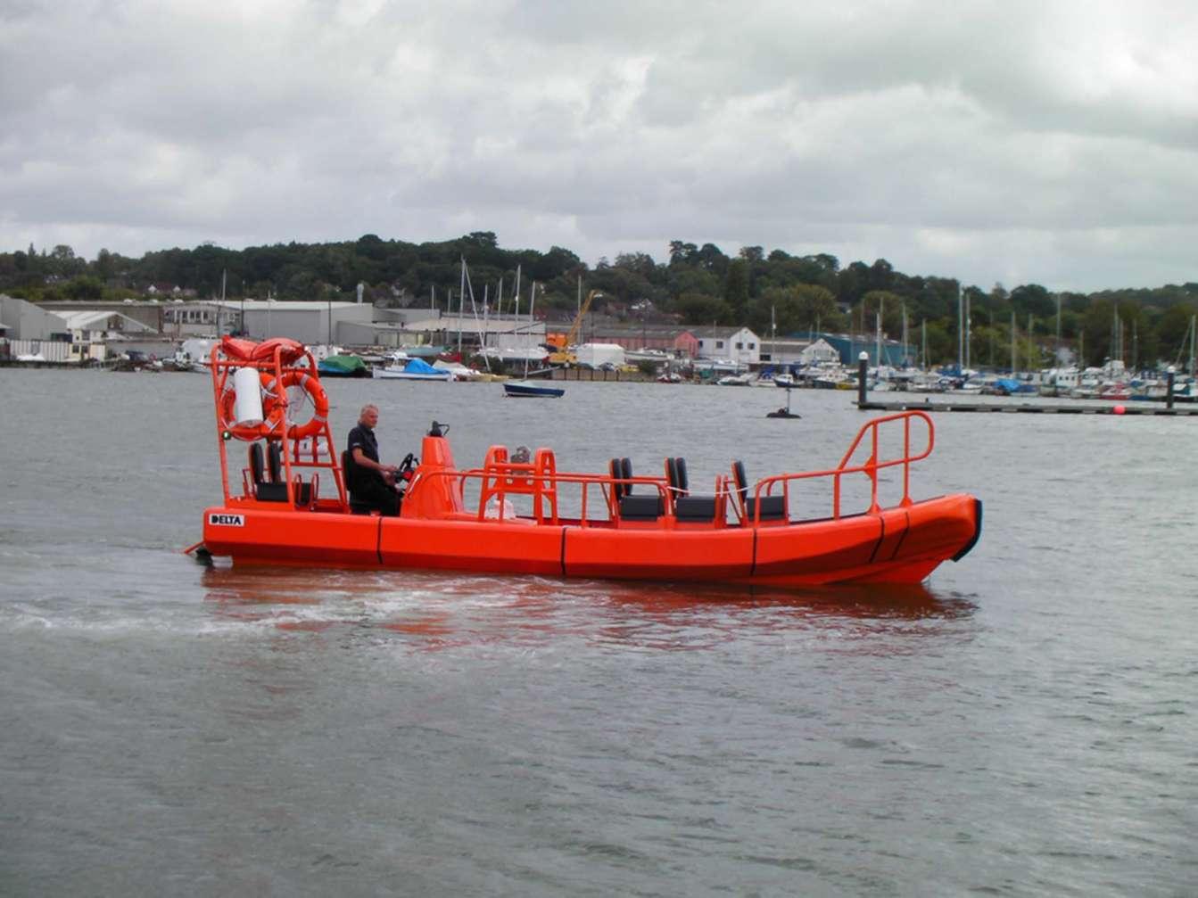 Delta crew transfer vessel