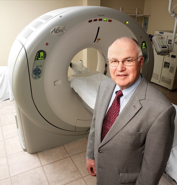 Jim Garrison says Cardiac CT Scan Saved His Life