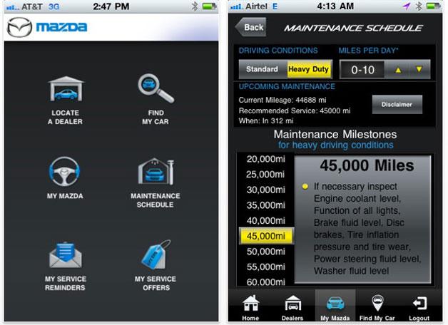 Car Service App: Maple Shade Mazda Announces New MyMazda App Lets You Keep