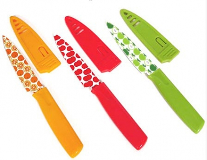 Hampton Forge Debuts Multi Colored Printed Paring Knives