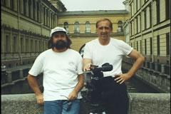 Jim & John Hilgendorf in St. Petersburg, Russia