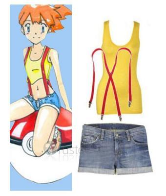 Pokemon misty cosplay girl variant
