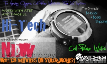 www.3gwatches.com Cell Phone Watch Retailer