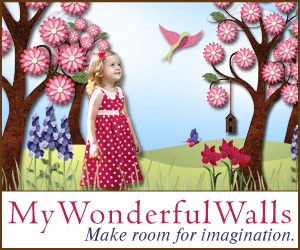 My Wonderful Walls - Stickers, Stencils & Canvas