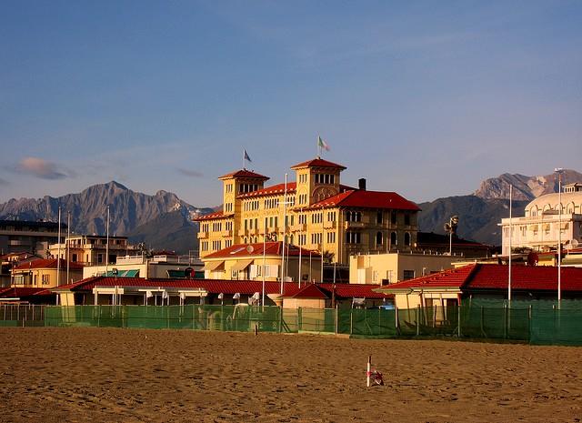 Viareggio - beach