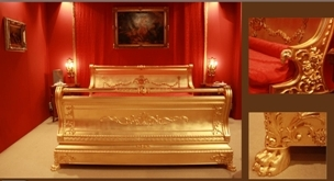 Gilded Bed  .