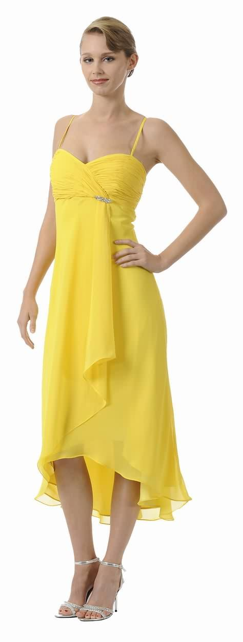 Similiar Yellow Chiffon Bridesmaid Dresses Keywords
