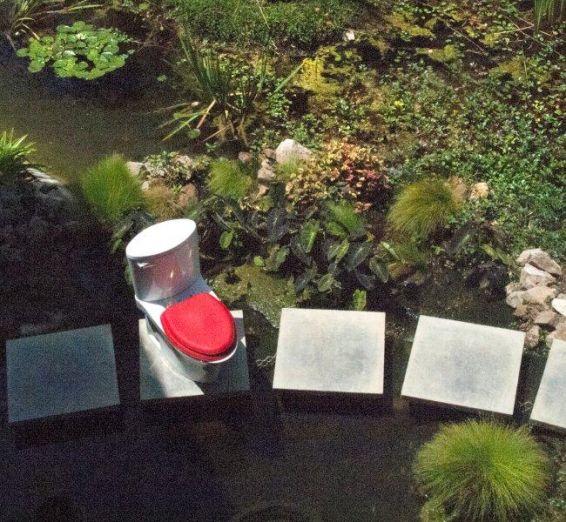EcoDomo Leather Toilet Seat - Sustainable Luxury