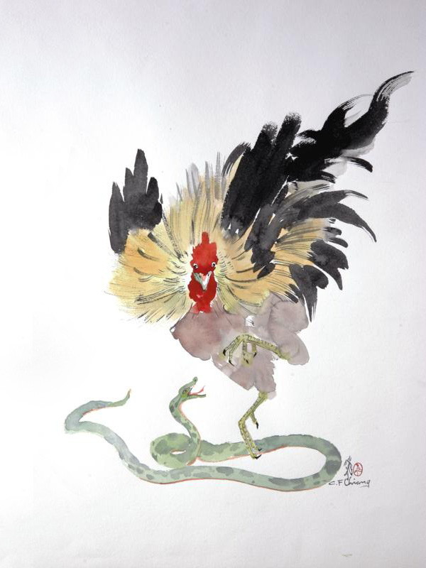 RoosterSnake by Chien Fei Chiang
