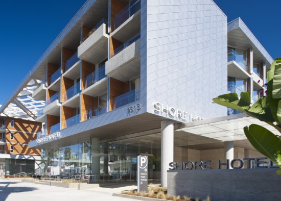 Shore Hotel, Santa Monica © Ryan Gobuty/Gensler