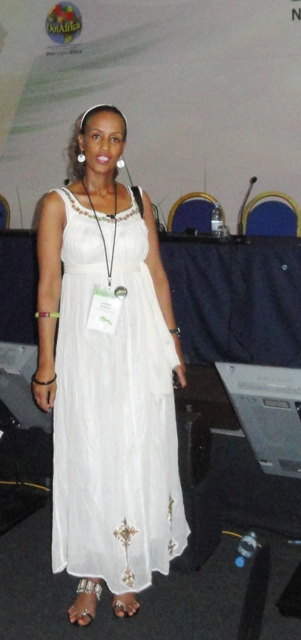 Sophia Bekele at Public Forum ICANN42 Dakar