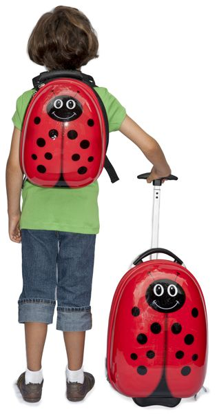 TrendyKid's Lady Bug Travel Buddies set