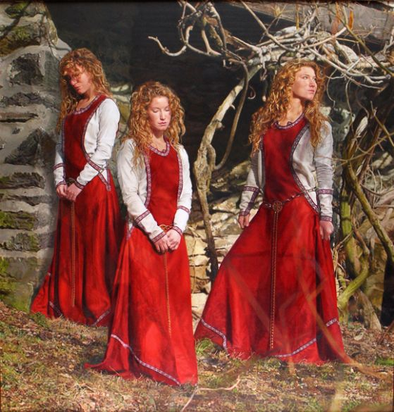 Diane Turner, Triplets, Oil on Canvas