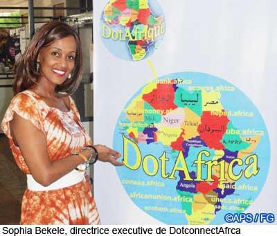 Sophia Bekele at ICANN 42 Dakar dotafrica