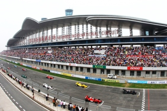 CFGP Ordos Oct 2011 Start Grid
