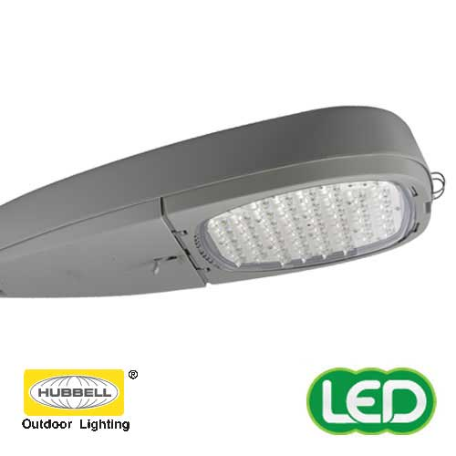 hubbell introduces new led roadway luminaire and a led retrofit kit