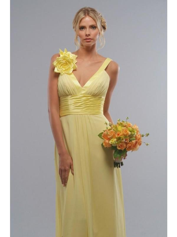 Yellow Bridesmaid Dresses 91