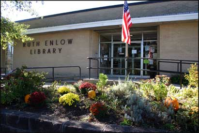 Ruth Enlow Library in Oakland, Maryland