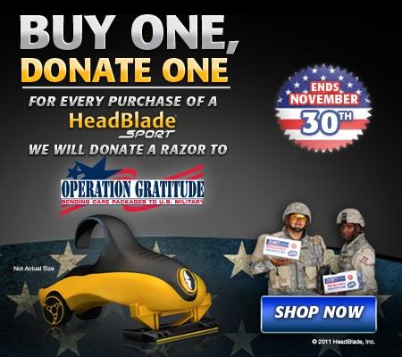 Operation Gratitude HeadBlade Donation