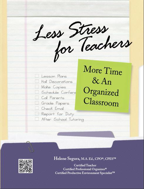 Less Stress for Teachers: Must-read for educators