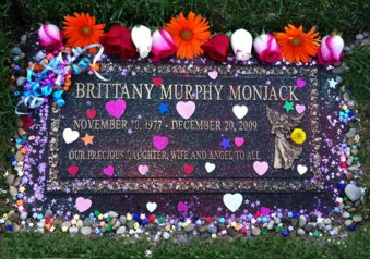 Brittany Murphy's Grave on Her 34th Birthday