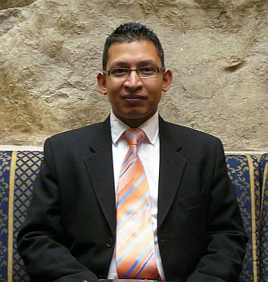 Shaheen Haque, territory manager, Middle East & Tu