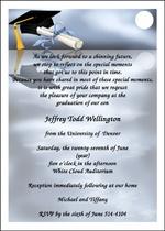 Invitation Wording for Graduation Invitations