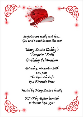 Invitation Wording and Announcement Sayings