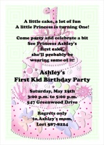 Birthday Party Invites for Girls