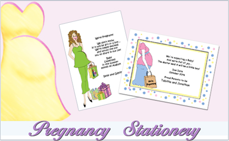 Announcement for Pregnancy