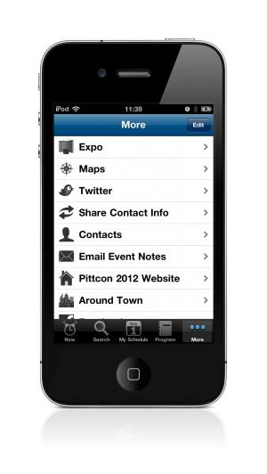 Pittcon 2012 Conference App