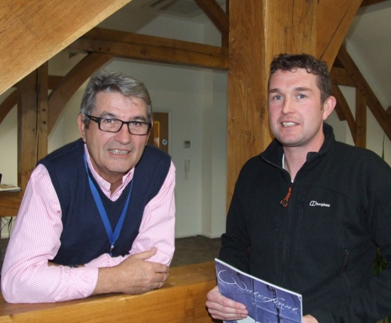 Allan Stockwin and David Proctor at OAQ Ltd
