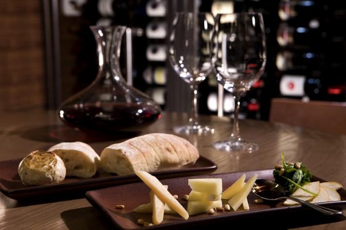 Hyatt 3 Tusca Wine and Cheese
