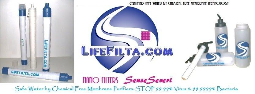 LifeFilta Life-Saving Straws/Water Bottle Filters