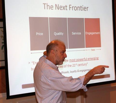Bruce Bolger at PEI Summit
