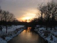 Yuletide Sunset