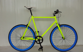 Retrospec Fixed Gear Bicycle at Palms Cycle