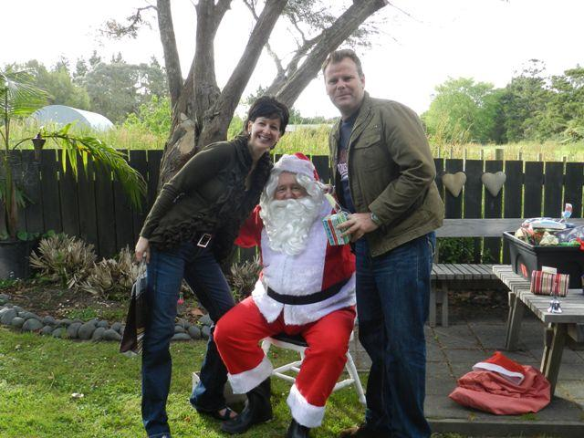 One of the Travel Managers brokers with Santa