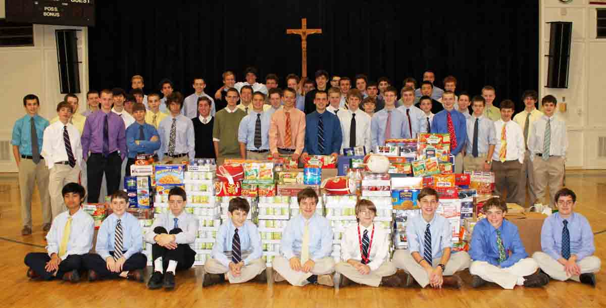 CAP & Food Donations-100