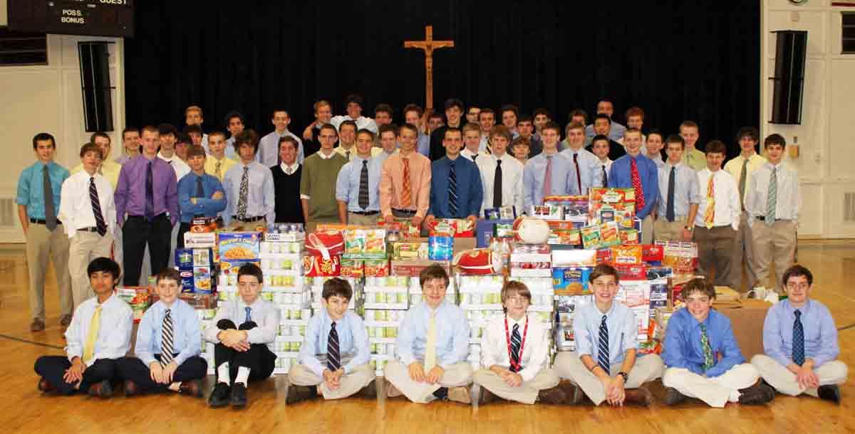 CAP & Food Donations-100