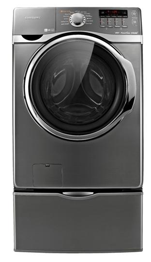 Samsung's ecobubble laundry washer
