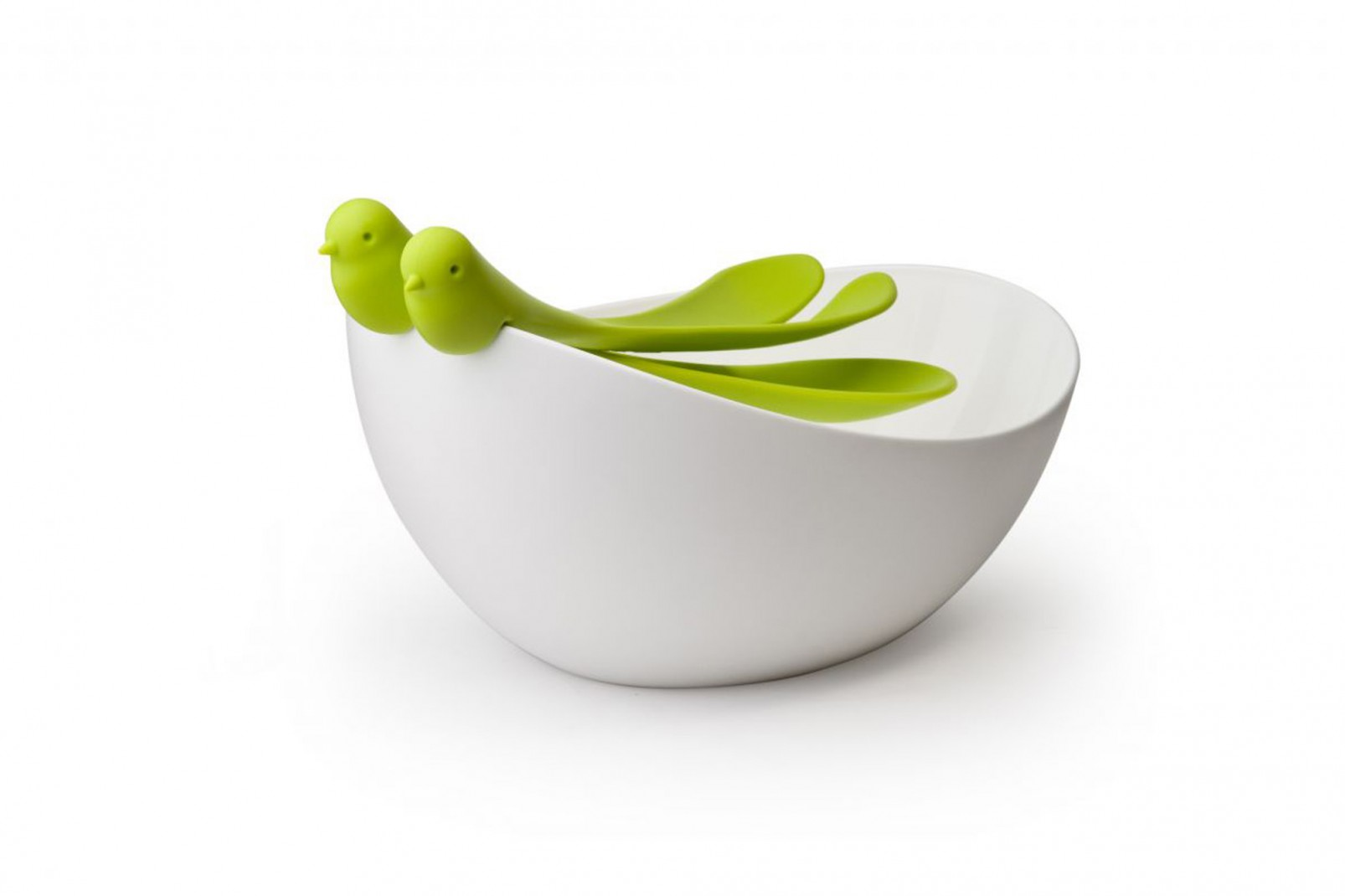 Sparrow Salad Bowl and Serving Spoons - RRP £29.9