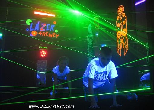 Lazer Frenzy Laser Maze