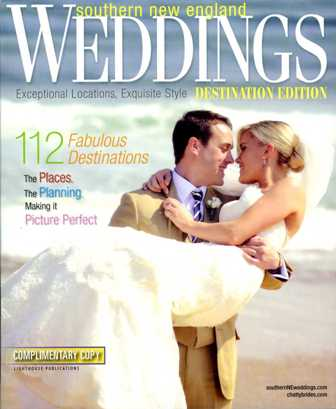 SNE Weddings 2012 cover: Destination Weddings