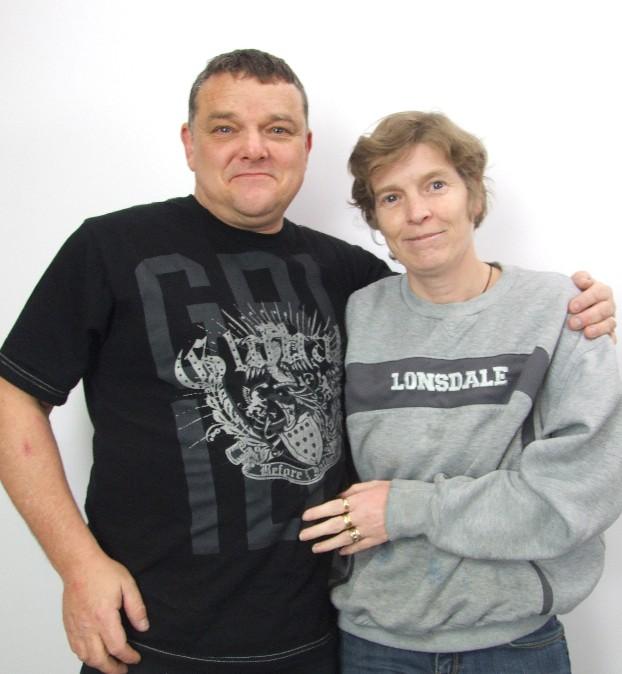 Roy and Debbie Hopkinson